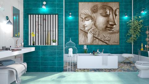 M_Aria - Eclectic - Bathroom  - by milyca8