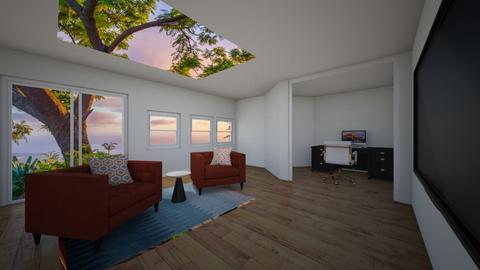 TREEHOUSE LIVING ROOM - Living room  - by Popcorn popstar