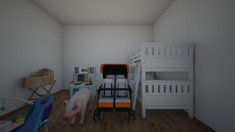 fsd - Kids room  - by ola czubinska