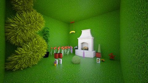 pokujnastolatki - Kids room  - by anetanek