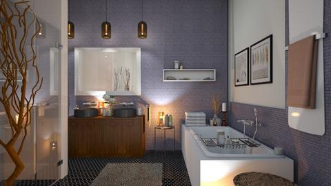 Eclectic B - Bathroom  - by zarky