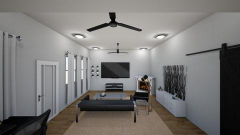 interior design project  - Living room - by mackenzie_frost