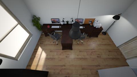 pracovna 1 - Office  - by terezasivakova