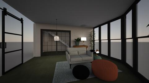 living room modern green - Modern - Living room  - by bo043