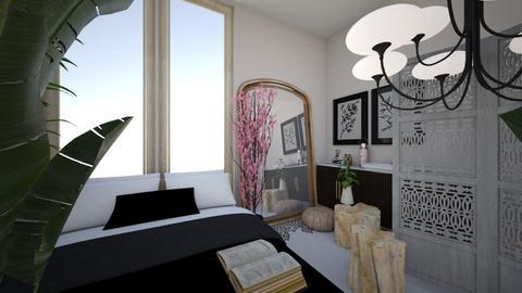 Feng Shui - Bedroom  - by kiwimelon711