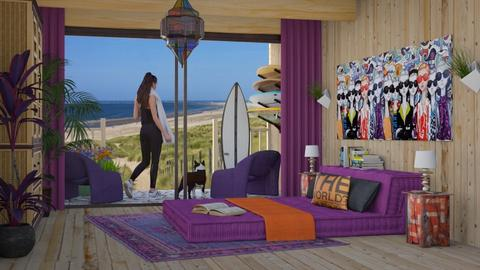 Surfers Paradise - Eclectic - Bedroom - by Theadora