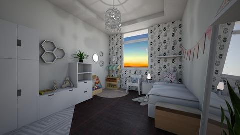 Sophias Room  - Kids room - by Gre_Taa