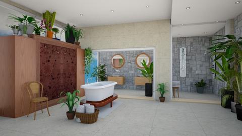 tropical bath - Global - Bathroom  - by steker2344