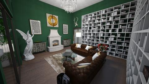 Art Deco living space - Modern - Living room  - by marinabh