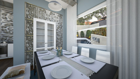 Modern and Classy - Classic - Dining room - by Faiths441
