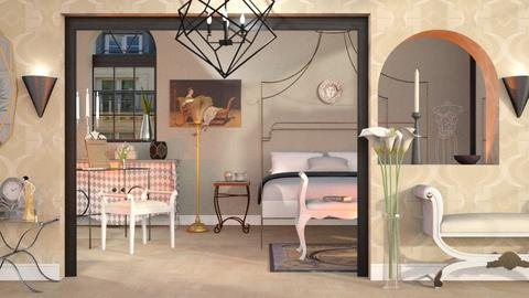 Art Nouveau Bedroom - Classic - Bedroom  - by Sally Simpson
