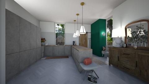 DARK but cant make bright - Kitchen  - by KylaTH