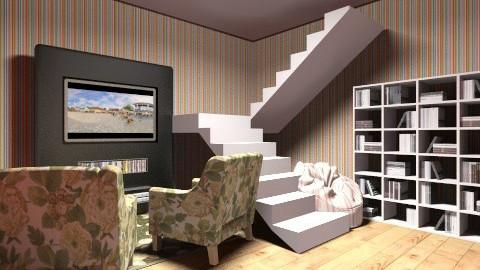 TV - Bedroom - by langerreka