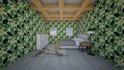 beams room - Modern - Bedroom  - by percy_jackson_geek