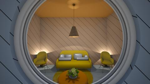 Mellow Yellow - Living room  - by Love to all