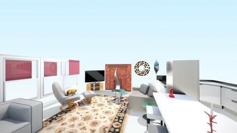 living room 1 - Retro - Living room  - by artbagnall
