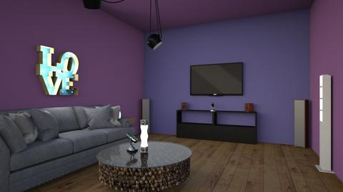 karaoke room - by jslyn