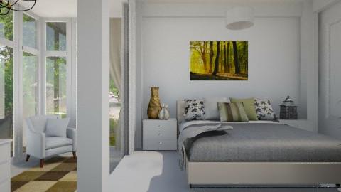 Simple Bedroom - Bedroom - by alasiamilan