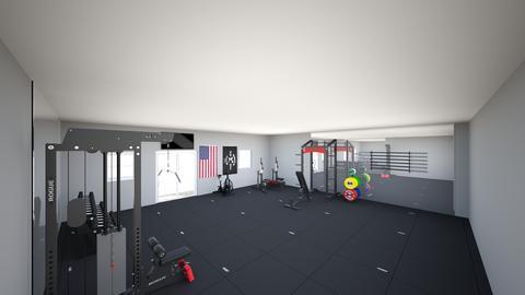 Garage gym - by rogue_075709690697f7c95875387922de4