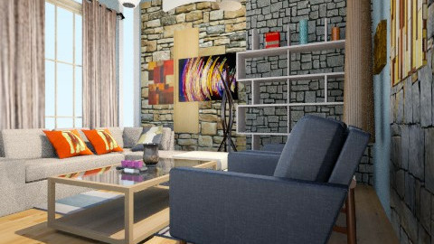 rocky - Glamour - Living room  - by Cee_L