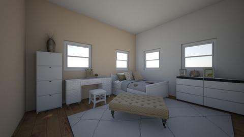 Beige and Bright - Modern - Bedroom - by Madelaine1207