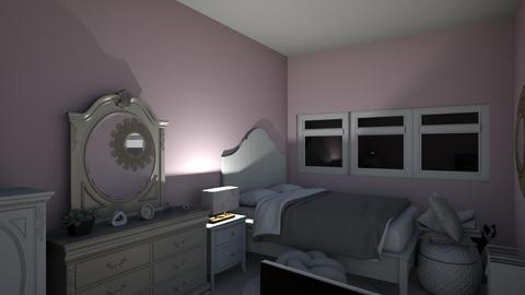 Princess Room - Glamour - Bedroom  - by abbythebaddie