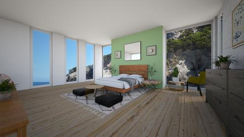 Chill Ocean  - Modern - Bedroom  - by BettyMalaga