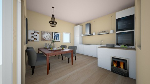 nada - Classic - Kitchen  - by nada12