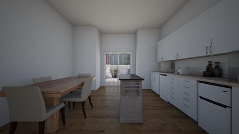 Kitchen in the clouds  - Kitchen  - by NatashaRoma