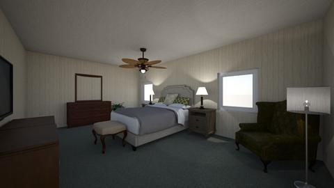 Room 217 Stanley Hotel - Bedroom  - by John9110