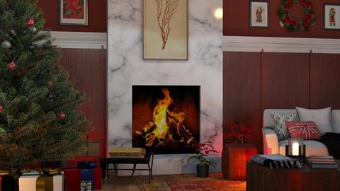 Warmer in the Winter - Classic - Living room  - by millerfam