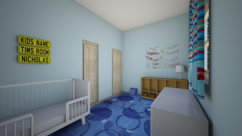 Nate_s Room0000 - Kids room - by Robacki