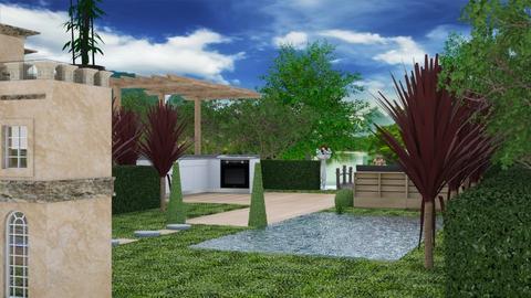 Exterior Design 2 - Garden  - by Riordan Simpson