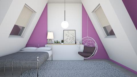 bedroom 2 - Bedroom  - by FANGIRLdesigner