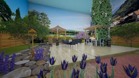 Backyard Garden_Template - Garden  - by steker2344