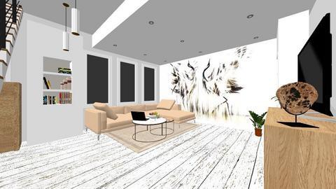 jasny braz - Living room - by DERRYS