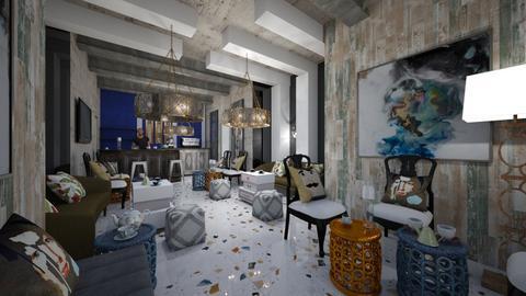 Cafe Interior - Modern - Living room  - by Nikos Tsokos