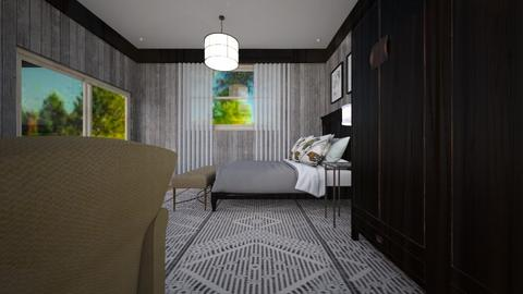 230 SF BNB - Country - Bedroom  - by decordiva1
