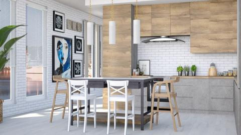 Sweden - Kitchen  - by Lizzy0715