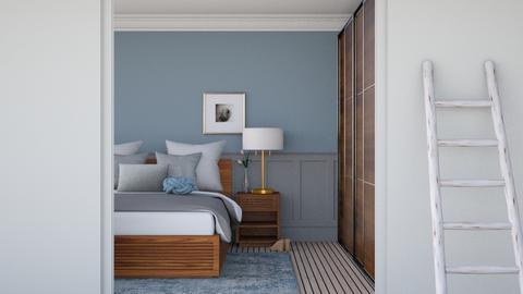Grey Bedroom - Modern - Bedroom - by HenkRetro1960