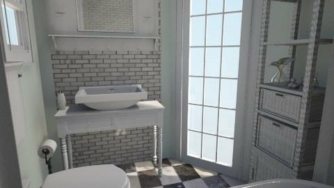 Minty fresh Bath time 1 - Modern - Bathroom - by Lisett