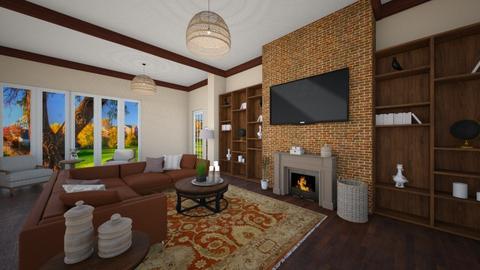 family room - Living room - by nuray kalkan