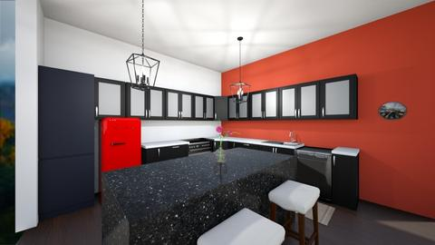 Emily Kaster  - Kitchen  - by avcl2606