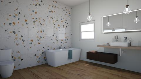 colourful tile  - Bathroom  - by percy pig