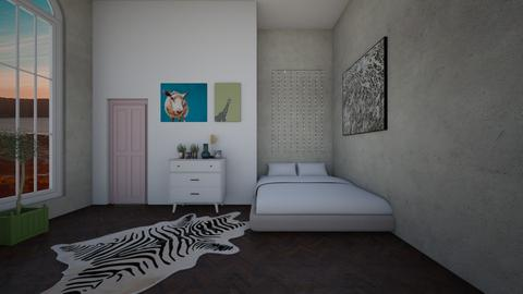 modern bedroom - by hanna roots