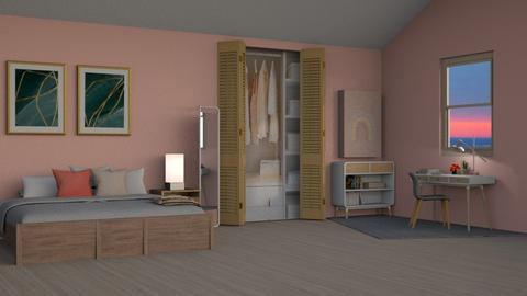 Elyza - Bedroom  - by kitacat