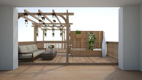 balcony - Garden  - by nihalruttala