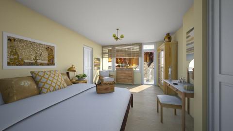Bedroom redesign - Modern - Bedroom  - by elle rose