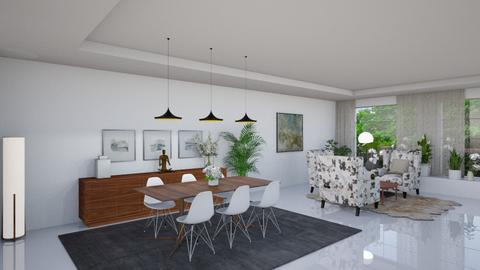 Estoril VIII - Modern - Dining room  - by Claudia Correia