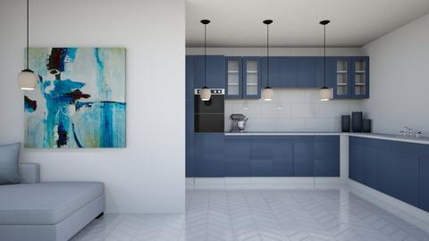 Blue Kitchen Remix - Kitchen  - by ZolaKate
